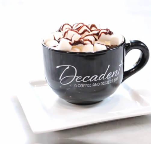 a cup of dessert